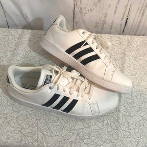 Adidas White Lifestyle Sneakers